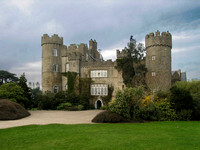 Malahide Castle on the north side of Dublin