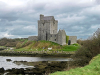 Dunguaire Castle on the southeastern shore of Galway Bay in County Galway, Ireland